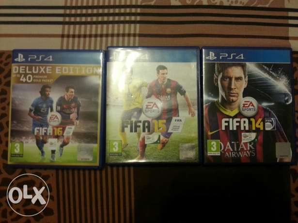 FIFA 14, 15, 16 (Deluxe Edition) - With Arabic Commentary مصر الجديدة -  1
