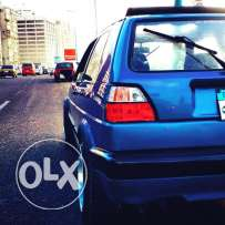 Golf 2 coupe GTI
