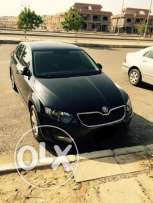 Skoda Octavia Model 2015 Elegance 1600 cc, Black Color Black Interior
