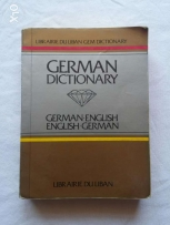 German - English dictionary , price can be reduced