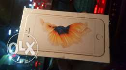 IPhone 6 S new 64giga العلبة متبرشمه بضمان دولى