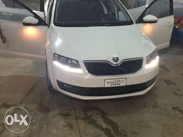 سكودا a7 1400 cc turbo model 2014