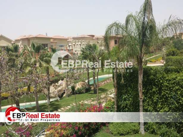 Villa with pool for rent in Lake View Compound in New Cairo