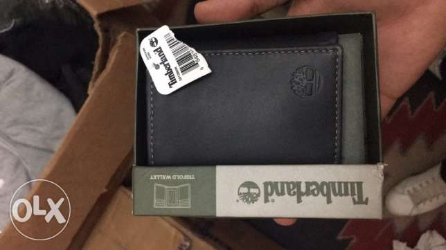 original Timberland wallet on sale for 600 LE with box and tags