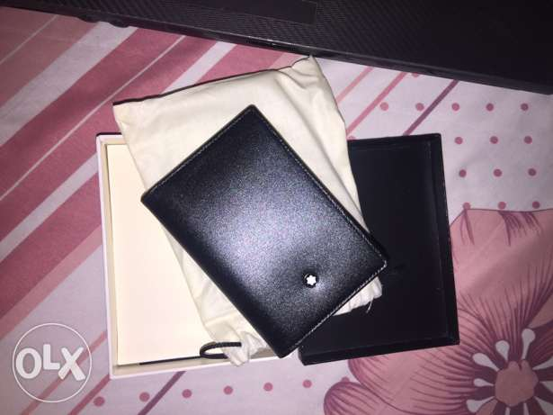 Original Mont Blanc wallet with guarantee