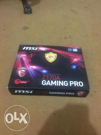 Mother board msi z170a gaming pro new dman 3 snen bt4el 6 krot