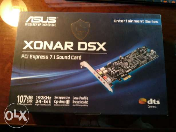 ASUS XONAR DSX PCI Express 7.1 Sound Card