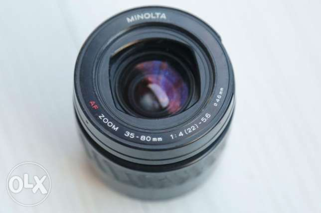 minolta 35-80mm for Sony Alpha