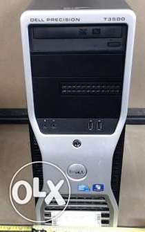 Dell T3500 Workstation 2.8 Cash8 Core 4 Vga 256 Ati Ram 4 g Hard 250