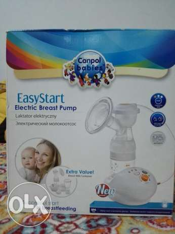 Electric breast pump.. Used only for 2 months... شفاط لبن كهربائي