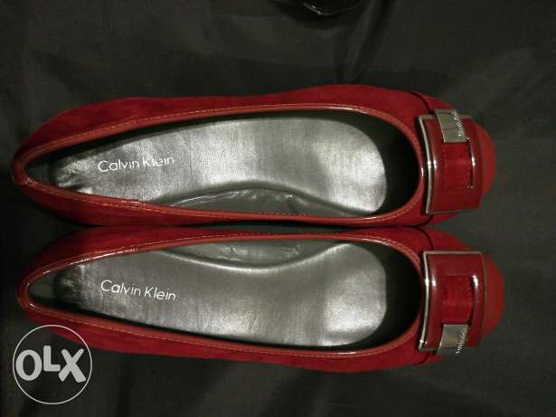 Celvin klein red shoes size: 8.5
