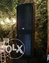 "4 Speakers "" Fdb ft15 "" Original "" Pre "" for sale with Amplifier"