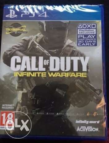 NEW Sealed INFINITE warefare PS4