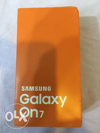 Galaxy ON7 (brand new) from saudi
