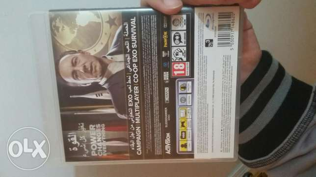 Call of duty like new ps3 مترجمه للعربيه 6 أكتوبر -  2