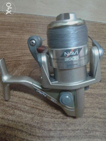 مكنة صيد سمك shimano Navi Made in japan تاخد 250 متر بريدد مقاس 20