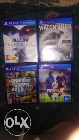 ps4 games for sell