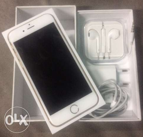 iphone 6 Gold zero with box and all acc شبرا -  2