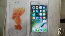 iphone 6s 64g rose gold used tow week with all accesoories