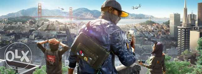 Watch Dogs 2 PS4 حلوان -  1