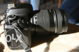 Canon 600d and lens 18-135 for sell