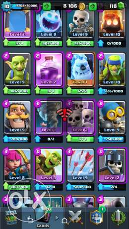 Arena 10 Clash royale account مصر الجديدة -  4