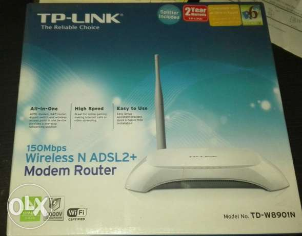 Tp-link wireless router TD-W8901N