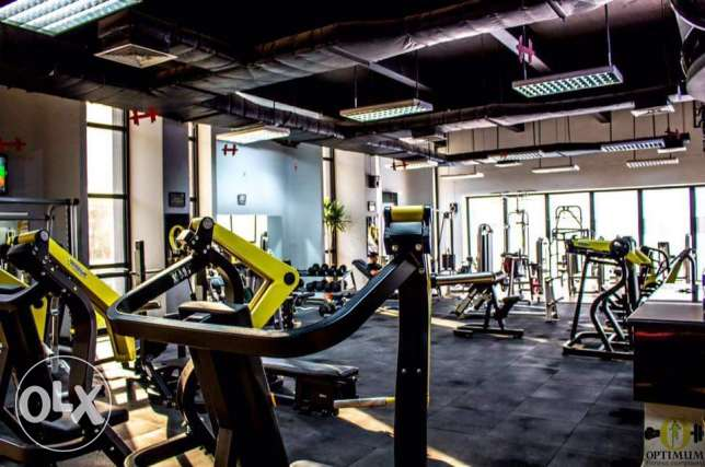 GYM membership ( Optimum Fitness Compound )
