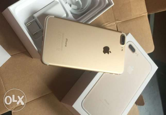 Iphone 7 plus Gold 128G