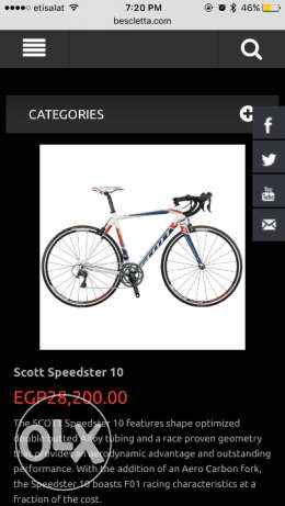 Scott speedster 10