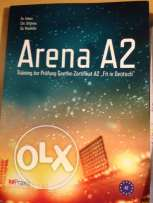 Arena A2 book for Goethe tests