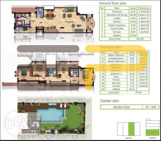Mountain View executive I Villa 278 sqm with a garden 60 sqm 39AH22 القاهرة الجديدة -  3