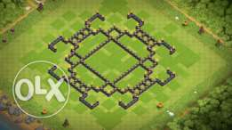 clash of clans th9 max lvl 117 كلاش اوف كلانس تاون هول ٩ ماكس لفل١١٧
