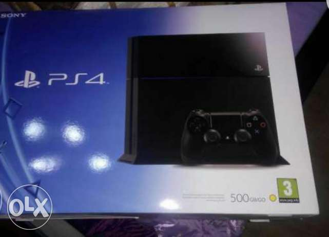 Play station4 for sale or trade with note 5 or i phine 6s مصر الجديدة -  1