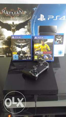 ps4 new with pes16 and batman with serial حلوان -  3