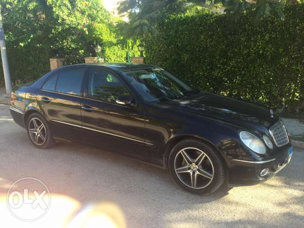 E 350 Bk*Bk 2008 Perfect Condition المعادي -  1