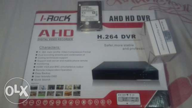 Dvr+mini cam +hdd500
