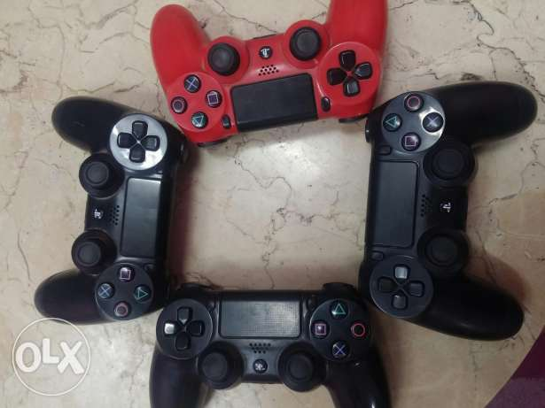 Ps4 4controllers
