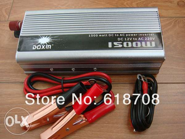 inverter 12v to 220v 1500 wat منوف -  1