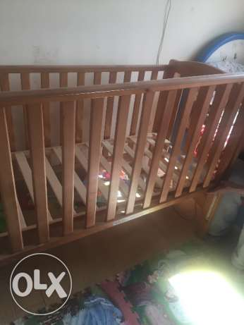 Mothercare Bed with the mattress الشيخ زايد -  1