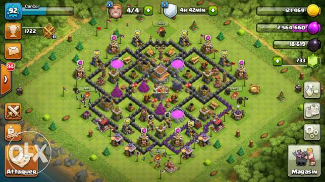 Clash of clans 8max