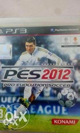 ps3 game pes 2012