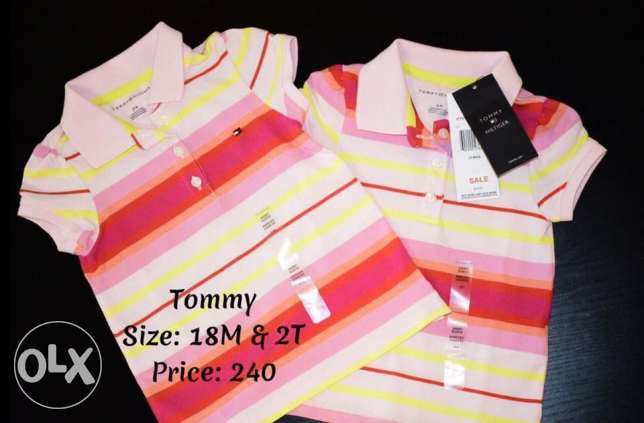Tommy T-shirts for girls