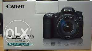 Canon 70D like new With Box With warranty shams stors