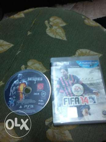 Ps3 games 2 CD games with good Price حدائق القبة -  1