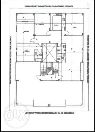 roof area 400m2 with Apartment with out area 280m2
