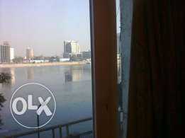 nile view unfurnished 2 bedrooms app nice balcony