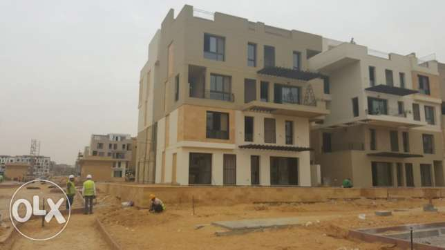 Duplex ground for sale in East town SODIC prime location middle