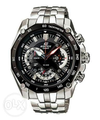 Casio Edifice Chronograph Men's Stainless Steel Strap Watch EF-550D طنطا -  1