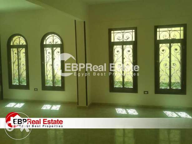 basement with small Garden for rent in New Cairo